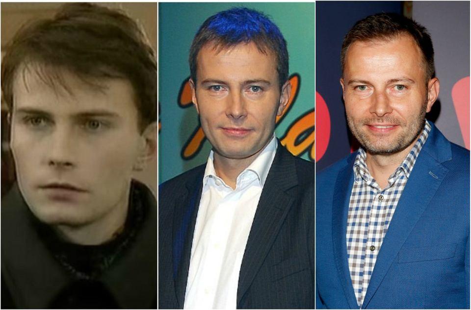 Tomasz Bednarek, czyli Jacek Borecki w latach 1997, 2007 i obecnie.