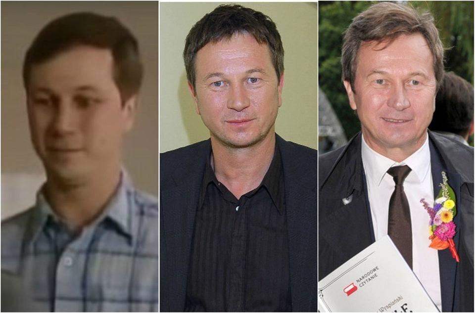 Piotr Cyrwus, czyli Ryszard Lubicz w 1997, 2007 i 2017 roku.