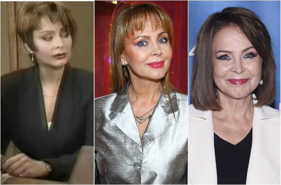 Izabela Trojanowska, czyli Monika Ross-Nawrot w 1997, 2007 i 2017 roku.
