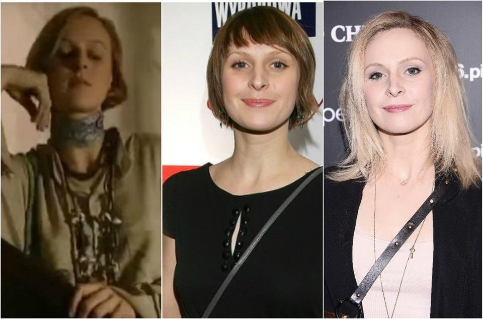 Paulina Holtz, czyli Agnieszka Lubicz w 1997, 2007 i 2017 roku.