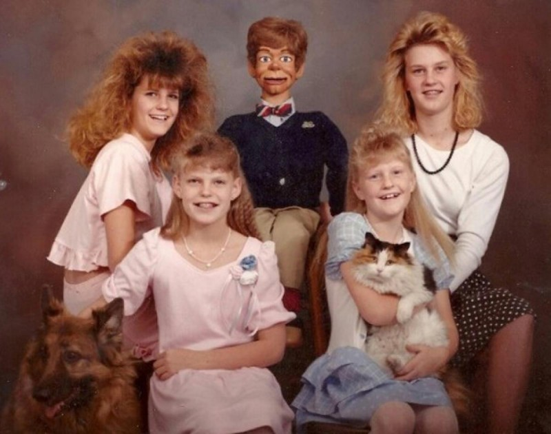 Trochę dziwna głowa rodziny…