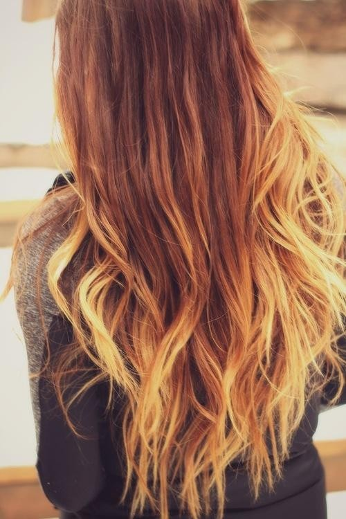 #8. Długie  rozpuszczone włosy