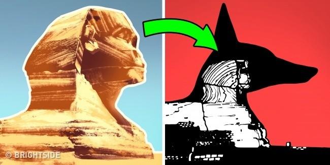 4. Oryginalny wizerunek Sfinksa