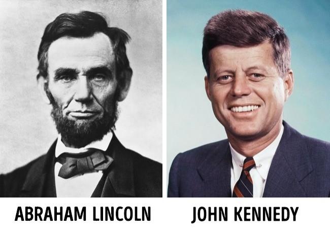 6 Zbieżność w biografii Lincolna i Kennedy'ego
