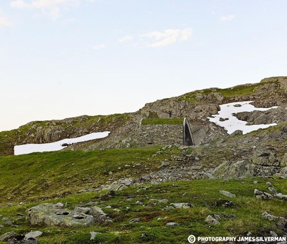 8. Domek nad jeziorem, Hordaland, Norwegia