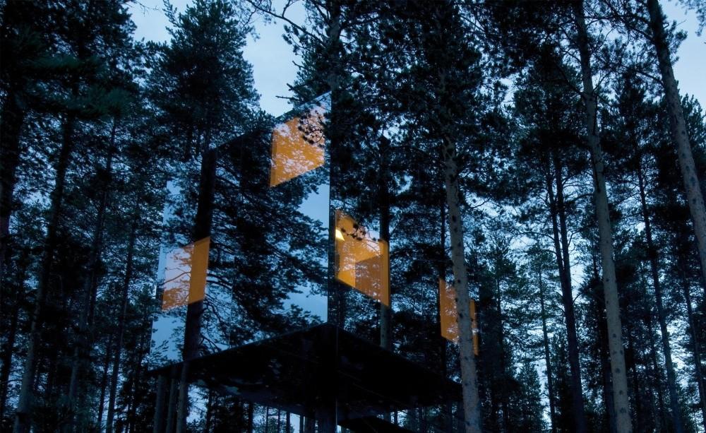 10. Lustrzana kostka, Lapland, Szwecja