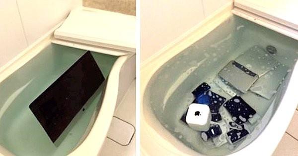 9. Chyba niechcący utopiły się wszystkie urządzenia na których z nią pisałeś!