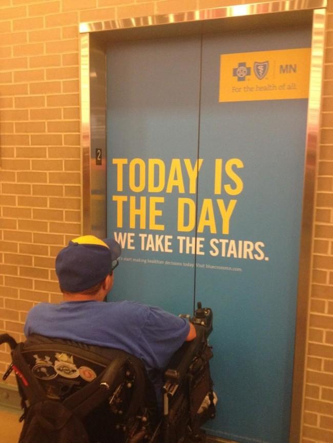 Ok pobiegnę schodami dla zdrowia