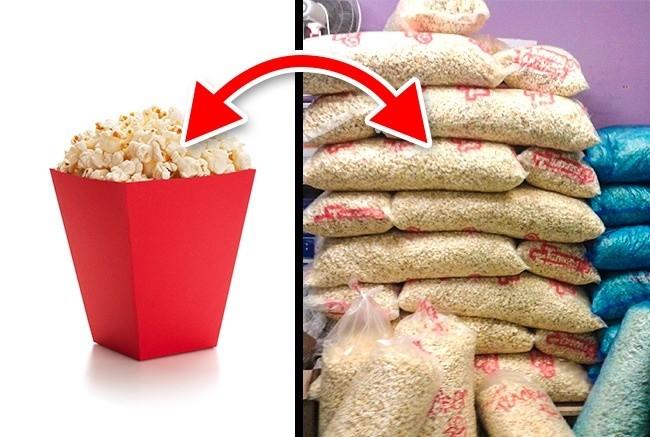 7. Sprzedawany popcorn nie zawsze jest świeży.