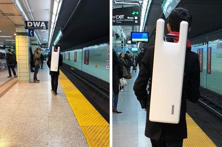 """5. """"Facet w metrze niósł to na plecach. Nie mam pojęсia co to takiego."""""""