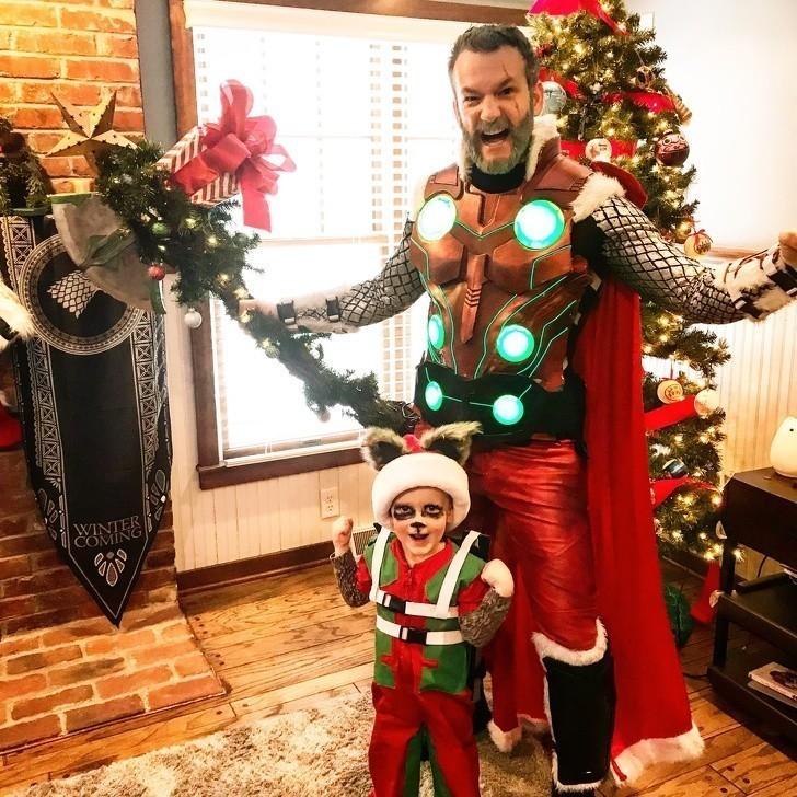 """7. """"Mój syn i ja jestеśmy gotowi na święta."""""""