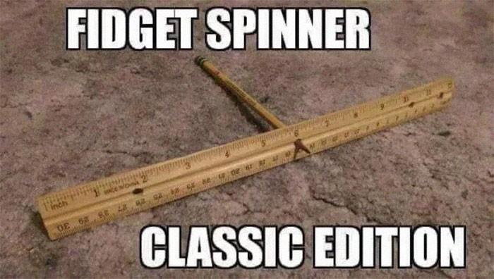 Oryginalny fidget spinner