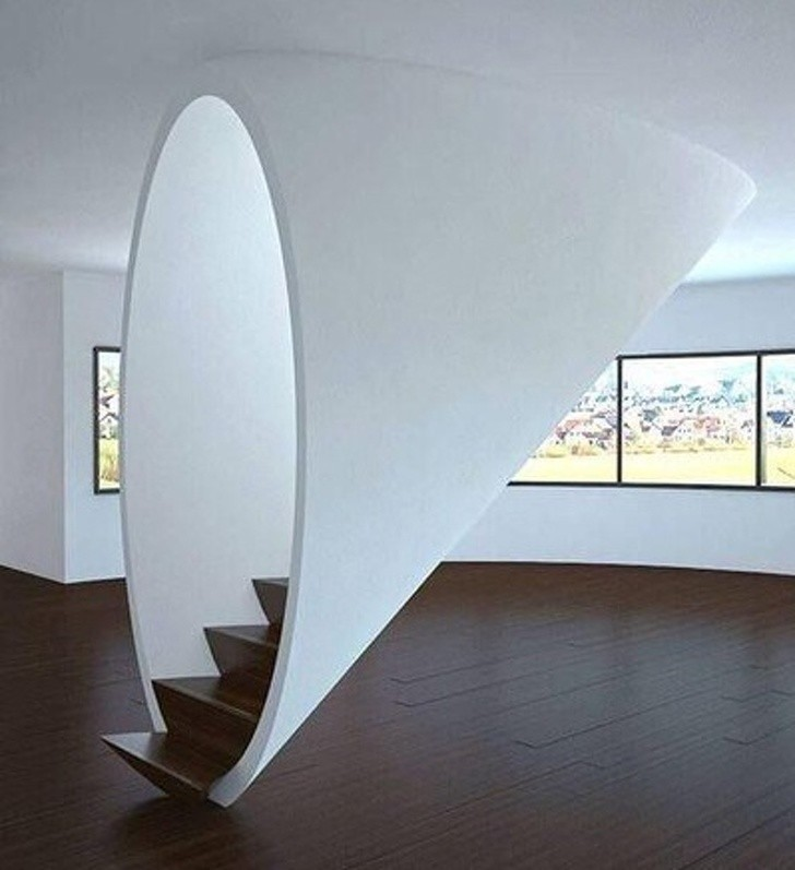 21. Te schody wyglądają jak portal do innego wymiaru
