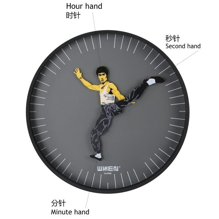 7. Zegar Bruce Lee