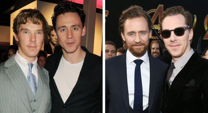 Tom Hiddleston i Benedict Cumberbatch