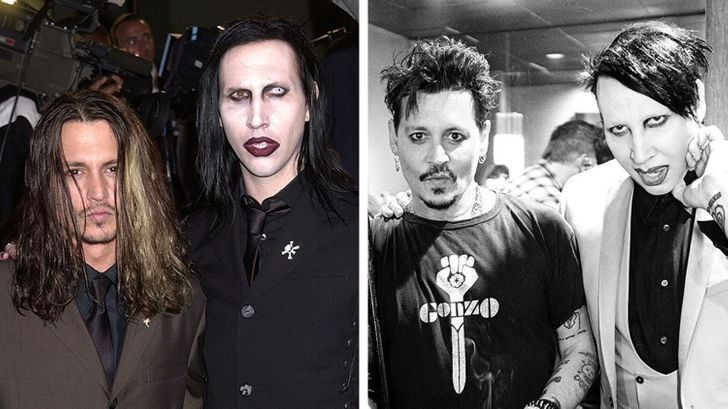 Marilyn Manson i Johnny Depp