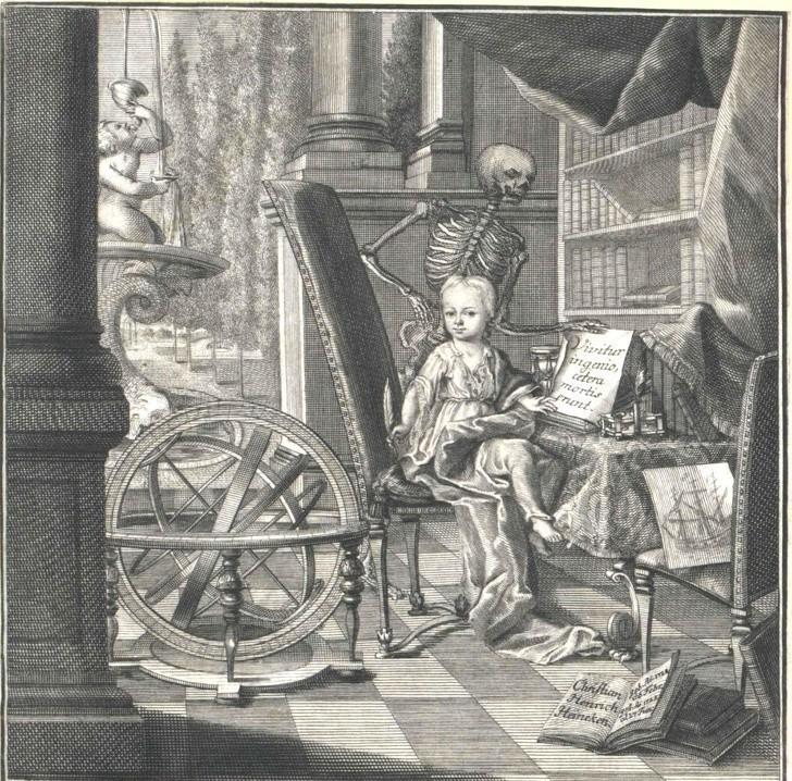 Niezwykle inteligentne dziecko, Christian Heinrich Heineken