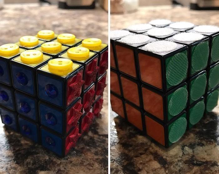 10. Kostka Rubika dla niewidomych