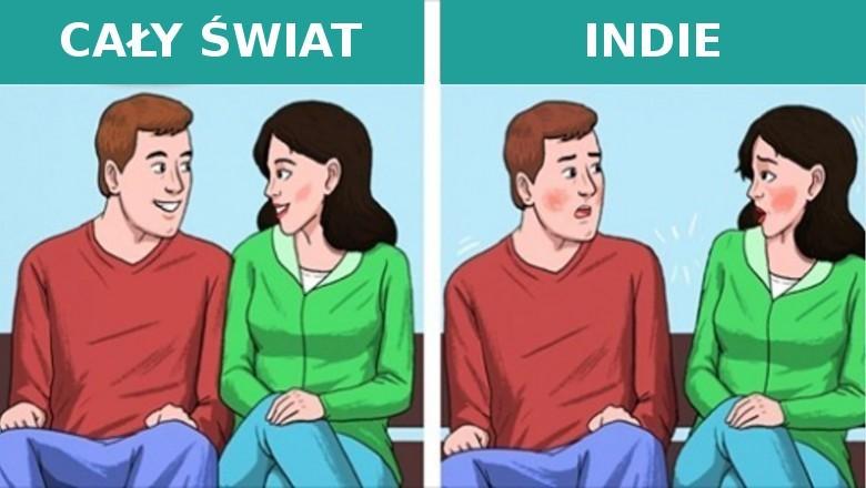 4. Fizyczny kontakt z osobami przeciwnej рłсi w Indiach