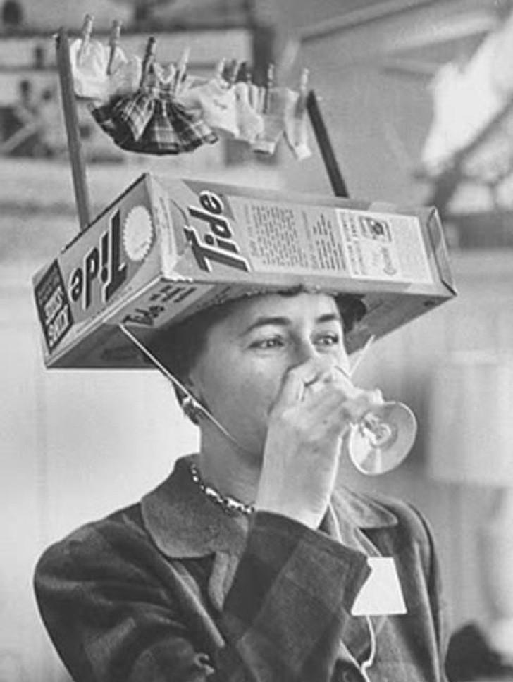 13. Reklama proszku do prania, 1950.