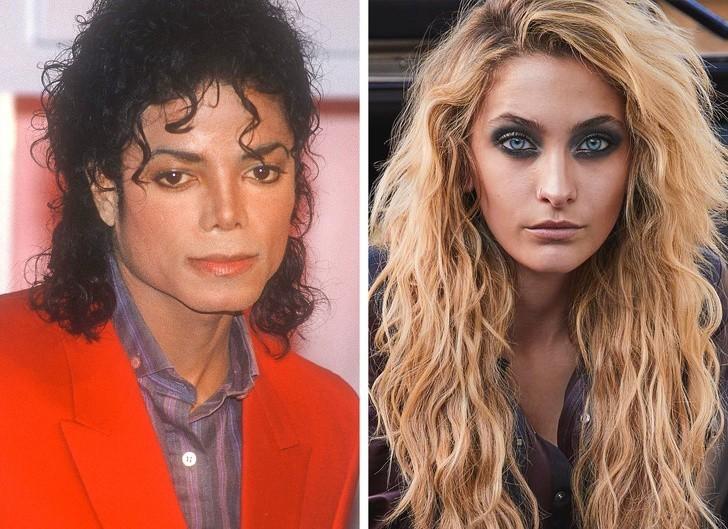 12. Michael Jackson i jego córka, Paris Jackson