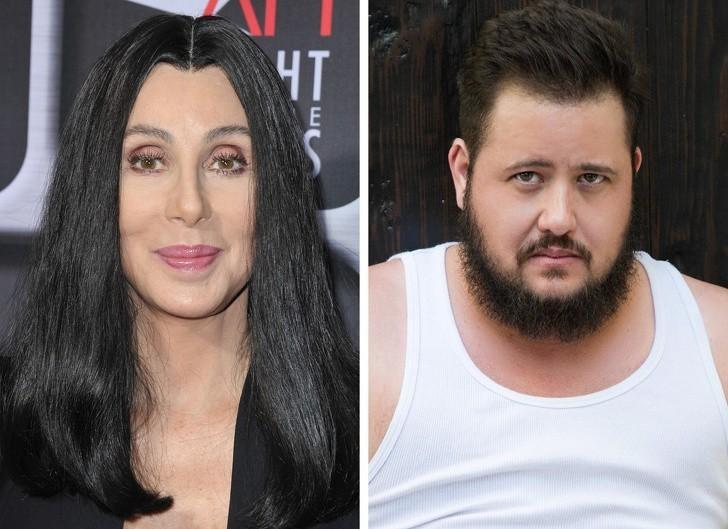 7. Cher i jej syn, Chaz Bono