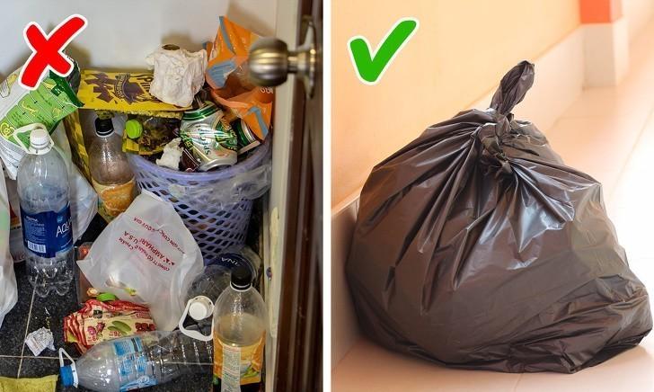 4. Pozbieraj śmieci.