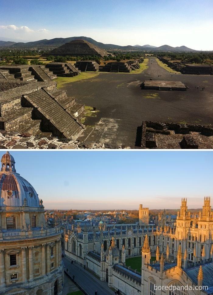4. Uniwersytet Oksfordzki istniał na setki lat przed założeniem imperium Azteków (1428)