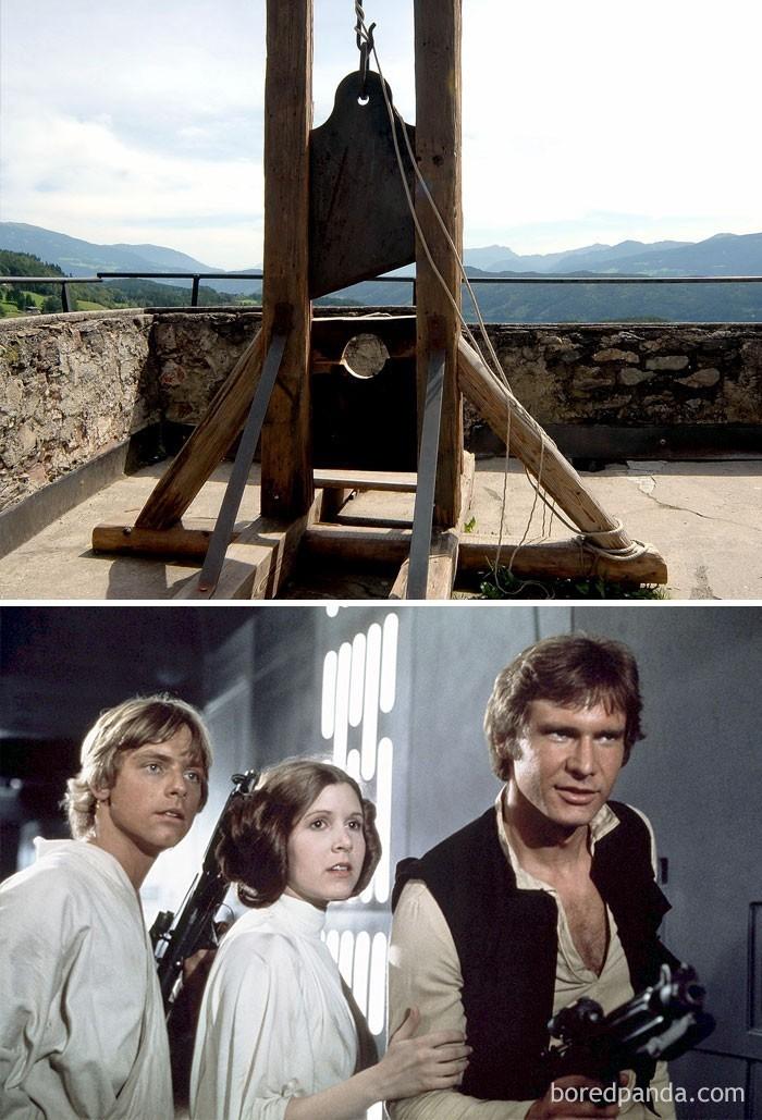 9. Gwiezdne Wojny zadebiutowały w kinach w tym samym roku, w którym odbyła się ostatnia egzekucja gilotyną we Francji (1977)