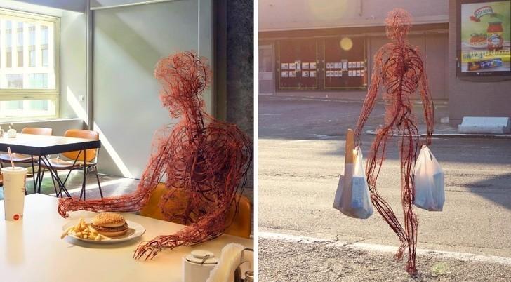 11. Wszystkie naczynia krwionośne w ciele człowieka.