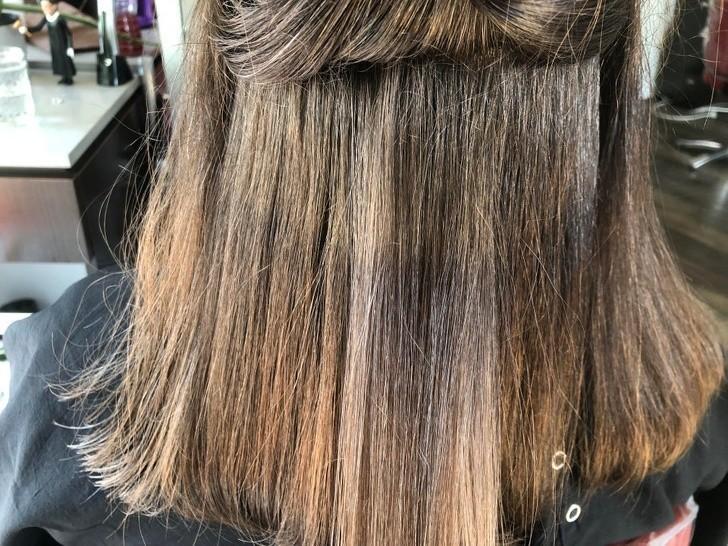 5. Włosy mojej żony naturalnie zmieniły kolor po urodzeniu dziecka.