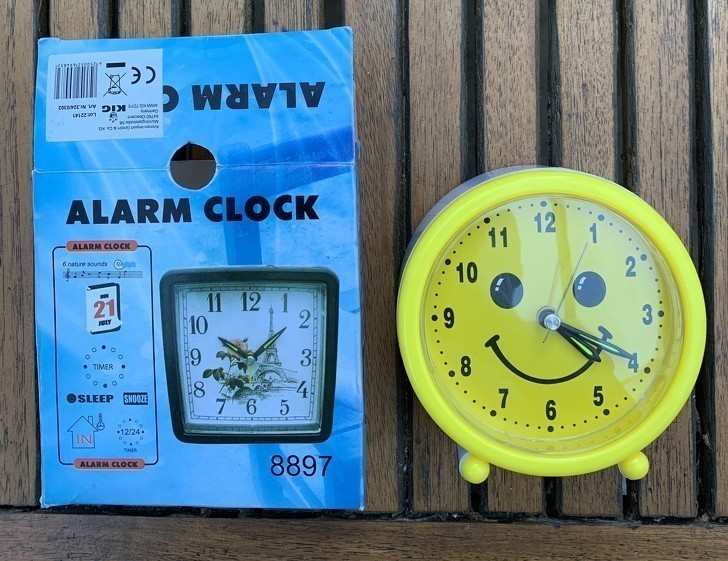 """7. """"Wygrałem ten zegar."""""""