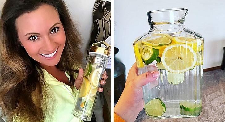 3. Zrzuć dodatkowe kilogramy dzięki wodzie z cytryną i solą