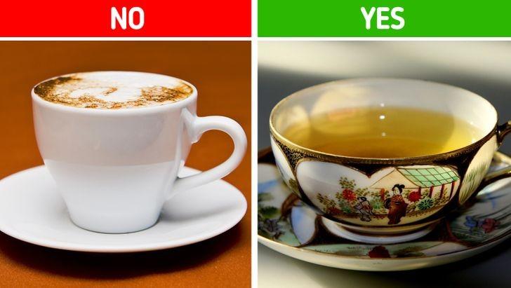 5. Pij zieloną herbatę.