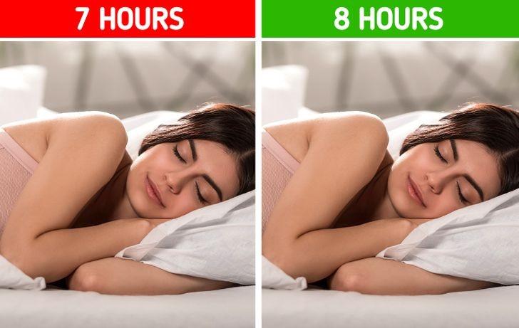 7. Śpij dłużej.