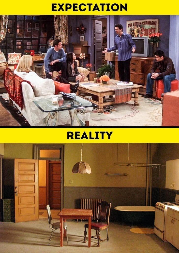 2. Zwyczajny apartament w Nowym Jorku wygląda znacznie gorzej niż pokazują to filmy.