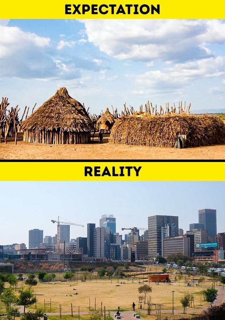8. Afryka jest ucywilizowana.