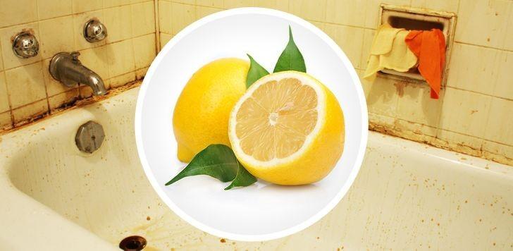 2. Wykorzystaj moc cytryny.