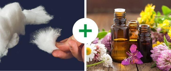 3. Użyj olejków aromatycznych.
