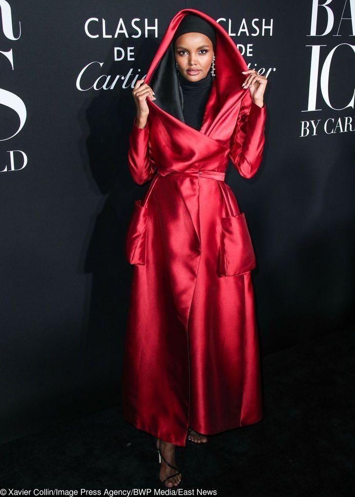 Miejsce 7: Halima Aden (modelka)
