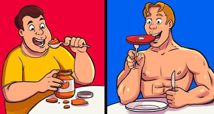 1. Uważanie, że wszystkie kalorie są sobie równe