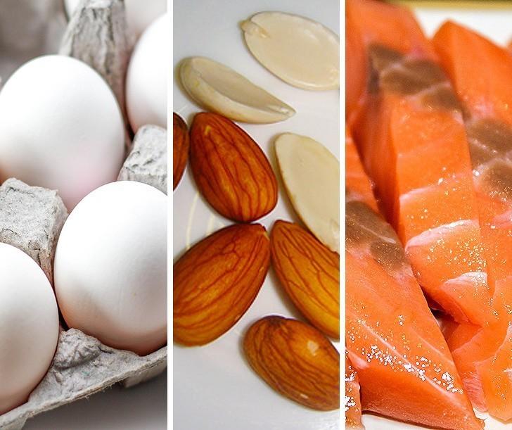 3. Jedzenie zbyt małej ilości białka
