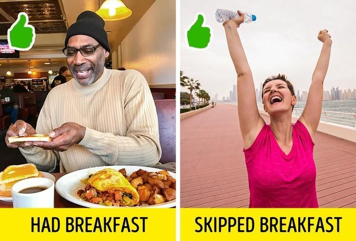 6. Przestrzeganie zasady aby nigdy nie pomijać śniadania