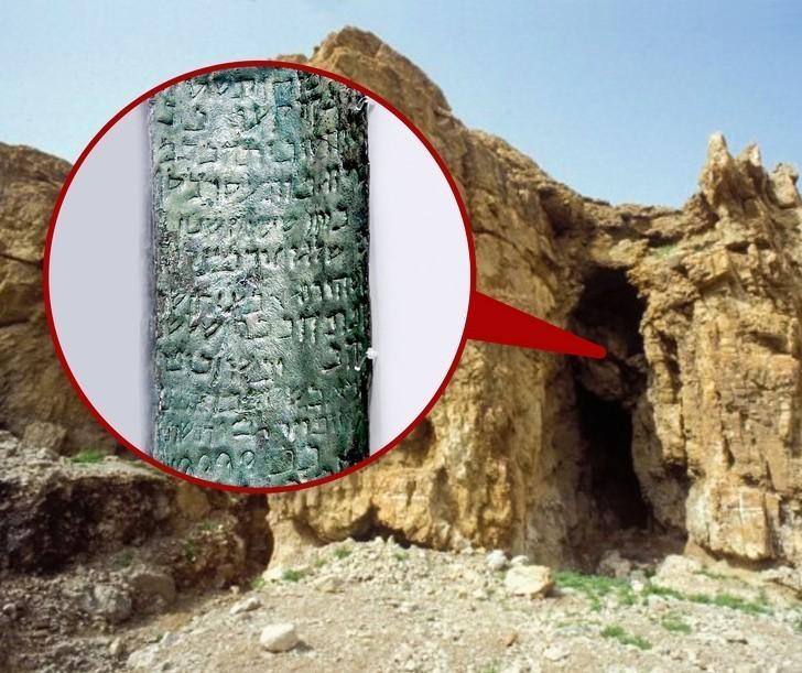 8. Starożytna mapa skarbów