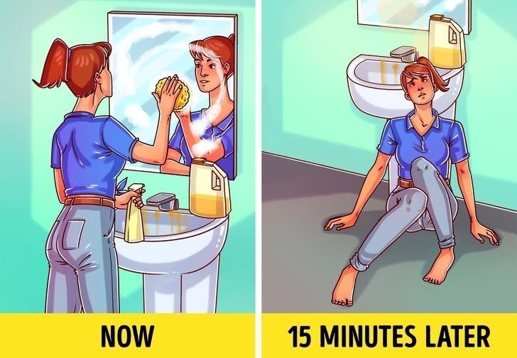 1. Używanie detergentów