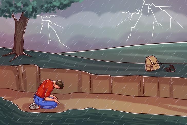 8. Gwałtowna burza
