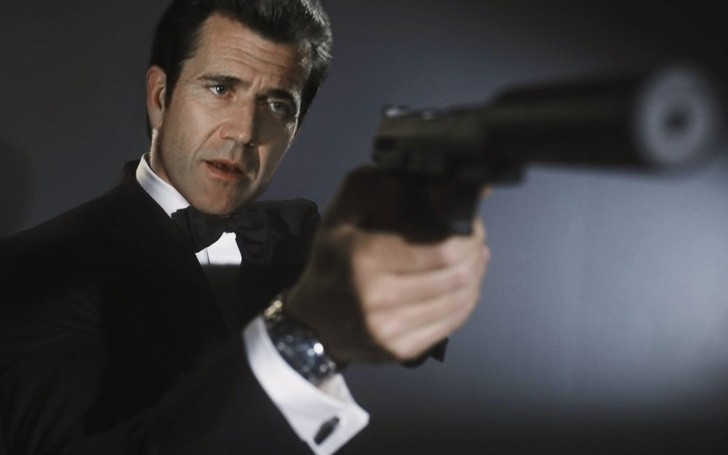 6. Mel Gibson jako James Bond