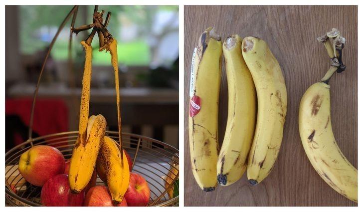 7. Te banany naprawdę nie chcą współpracować.