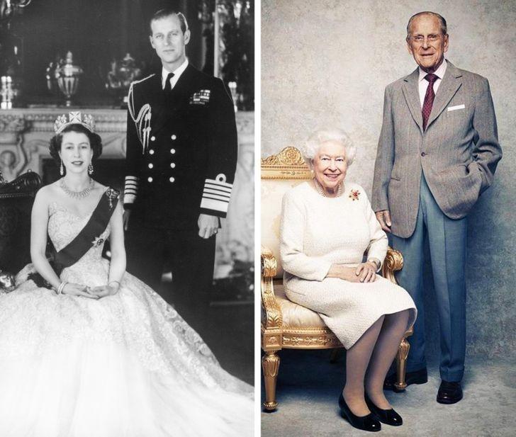 1. Elżbieta II i Książę Filip - 73 lata wspólnie