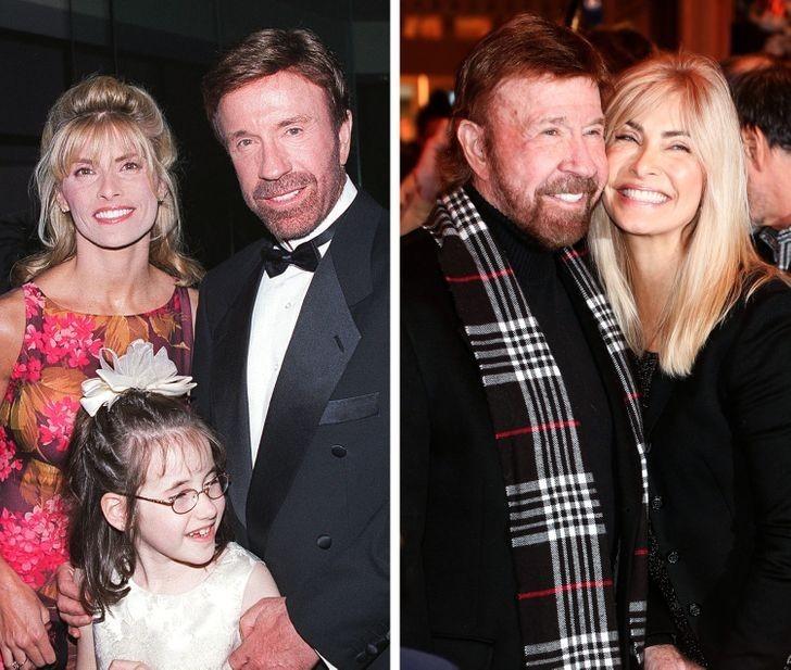 12. Chuck Norris i Gena O'Kelly — 22 lata wspólnie